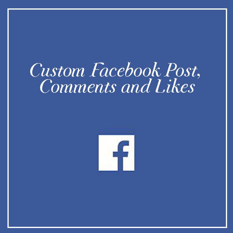 Fake facebook generator