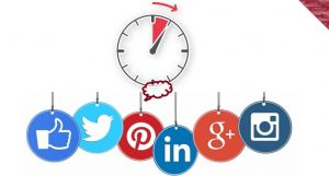 How much time one spend on social media per day